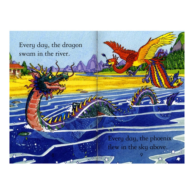 Usborne First Reading Book - The Dragon and the Phoenix