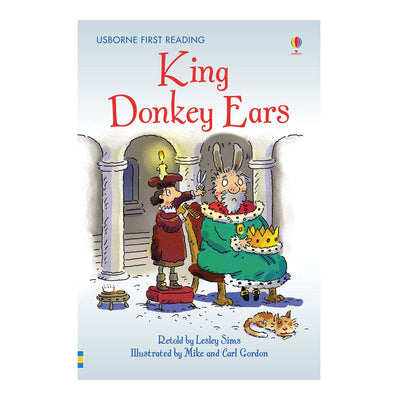 Usborne First Reading Book - King Donkey Ears