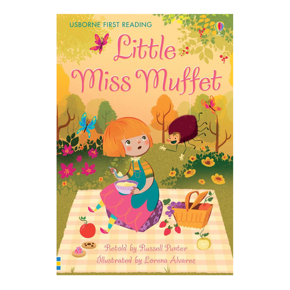 Usborne First Reading Book - Little Miss Muffet and the spider