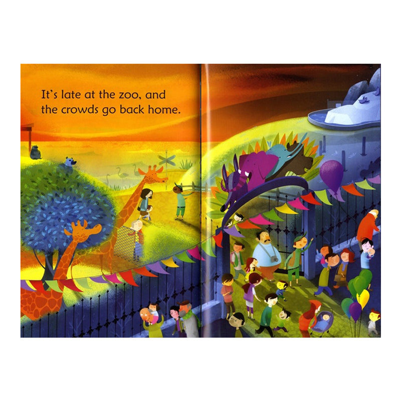 Usborne First Reading Book - Late Night at the Zoo