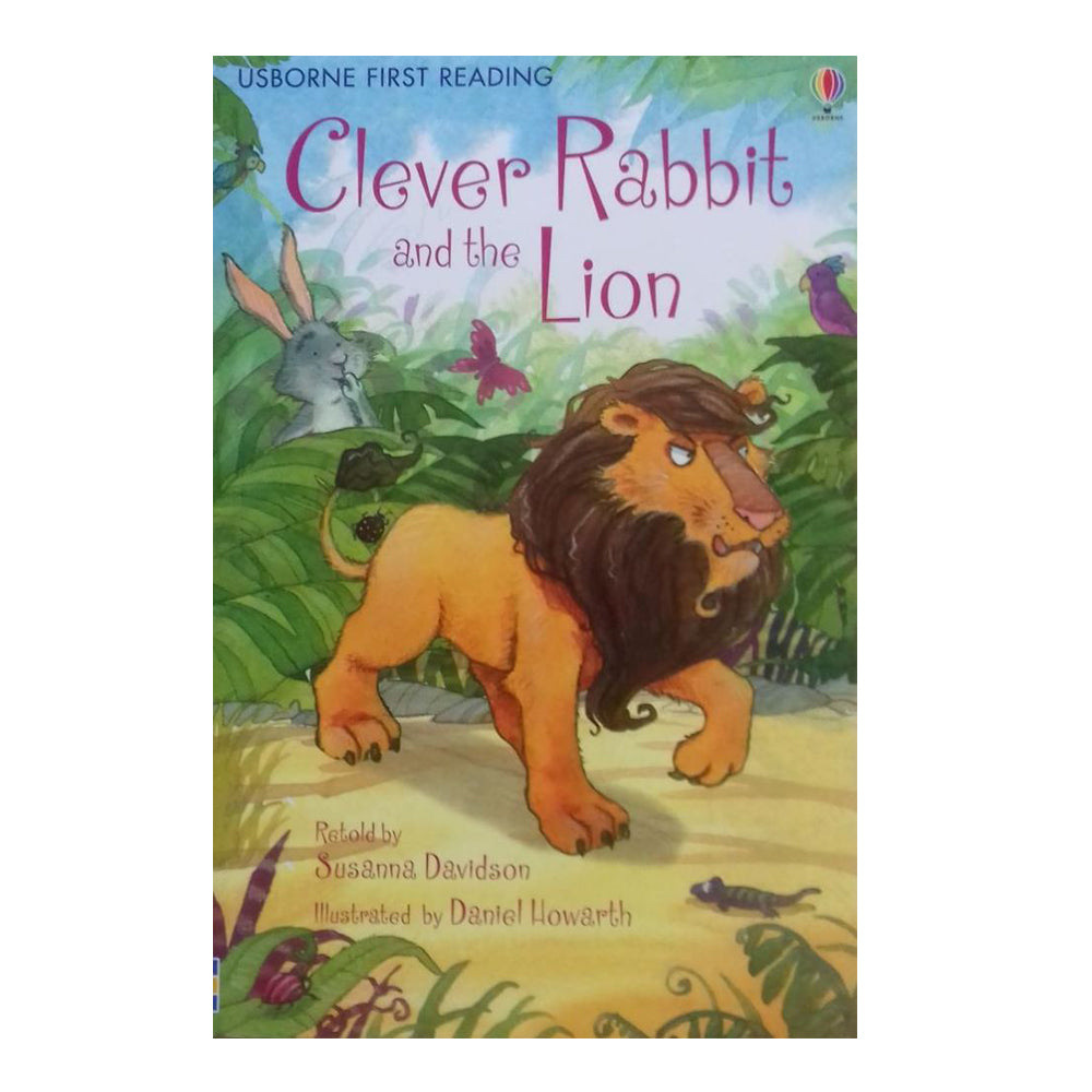 Usborne First Reading Book - Clever Rabbit and the Lion