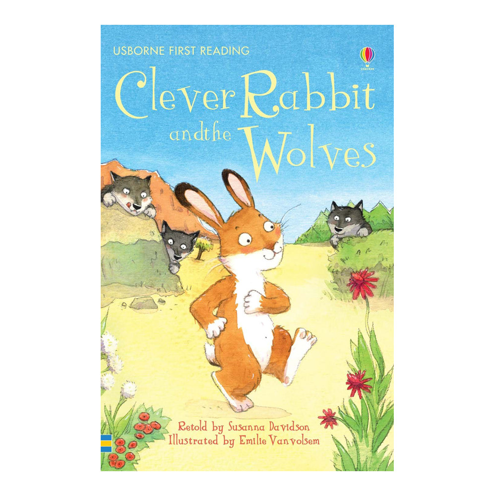 Usborne First Reading Book - Clever Rabbit and the Wolves