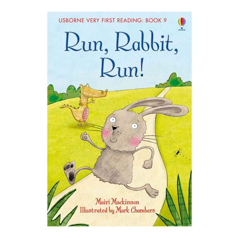 Usborne First Reading Book - Run,Rabbit Run