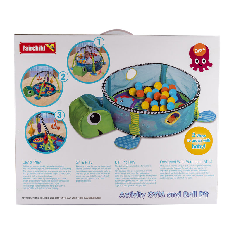 Turtle Baby Mat with 30 balls