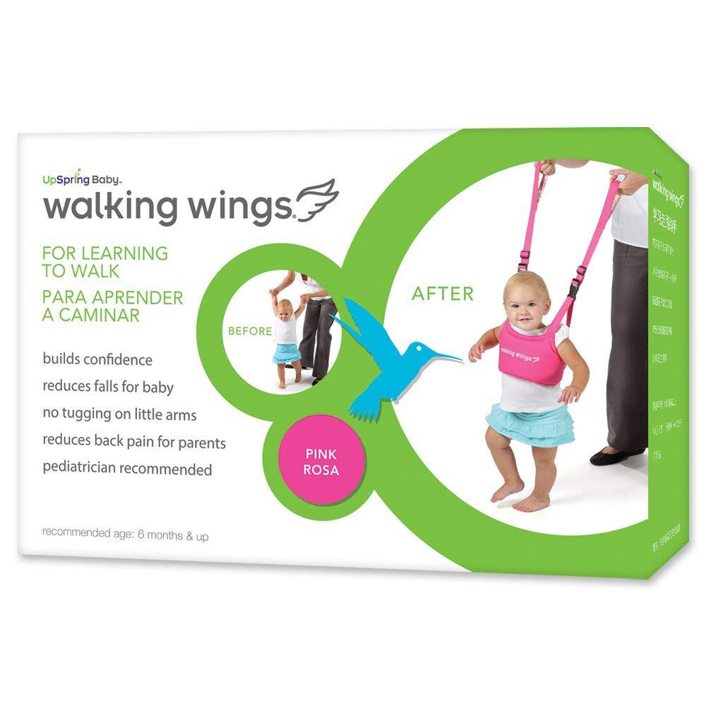 UpSpring Baby Walking Wings Learning To Walk Assistant, Pink