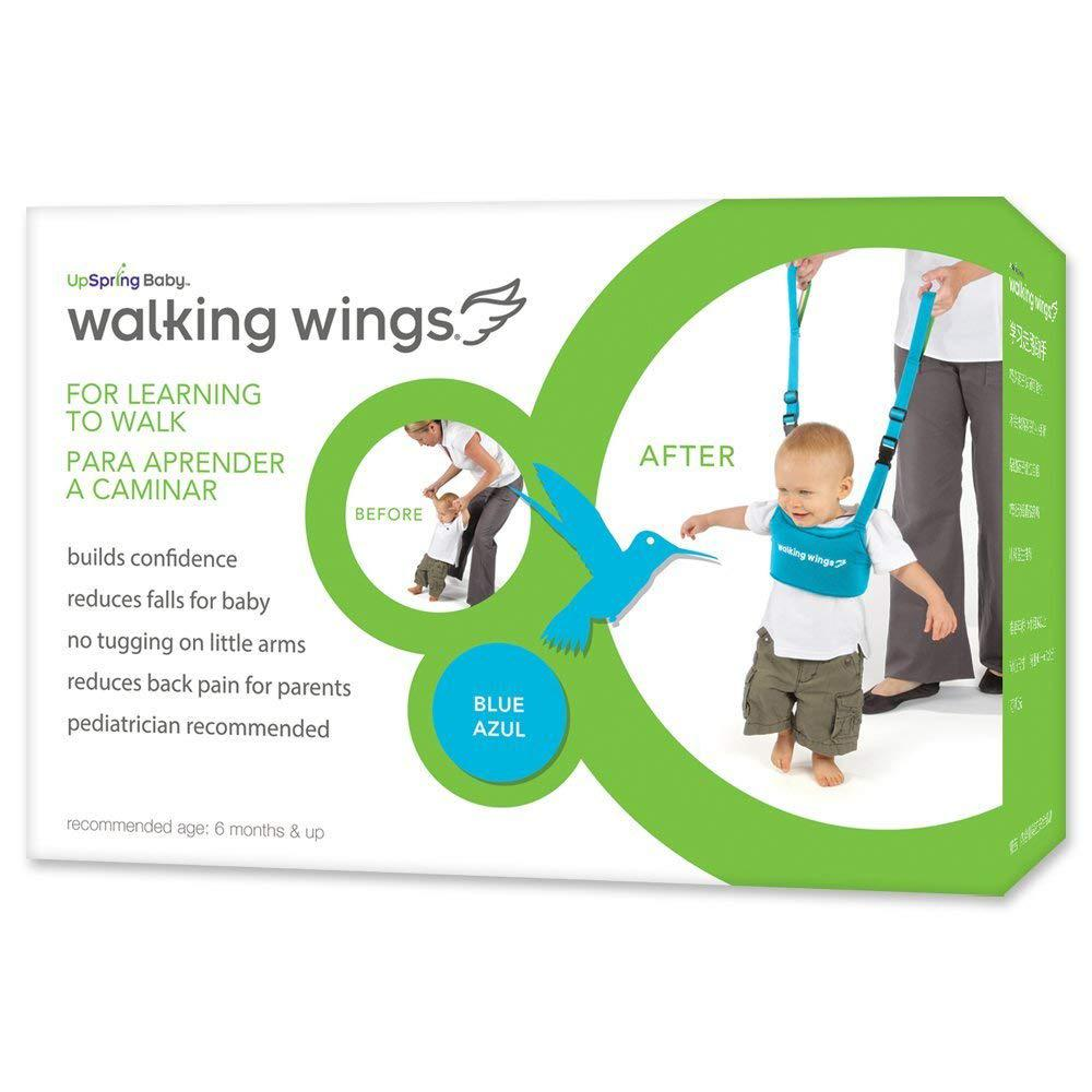 UpSpring Baby Walking Wings Learning To Walk Assistant, Blue