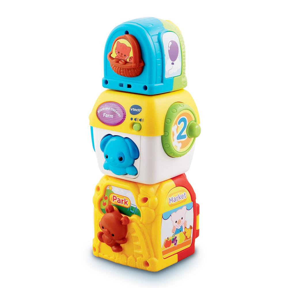 VTech Baby Stack and Discover Farm, 6 Months+