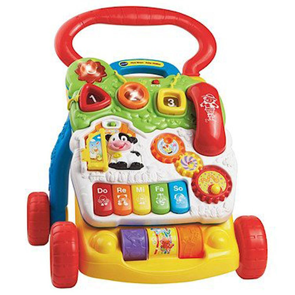 VTech First Steps Baby Walker - Red