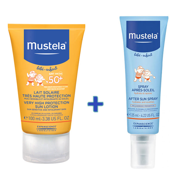 Very High Protection Sun Lotion SPF 50+ and After Sun - Bundle offer