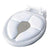 Olmitos Foldable Padded Potty, White