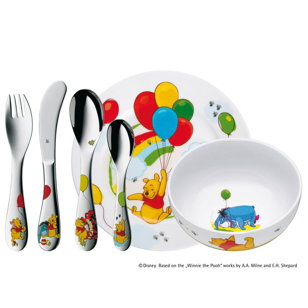 WMF Disney Winnie the pooh Child Sets 6pcs