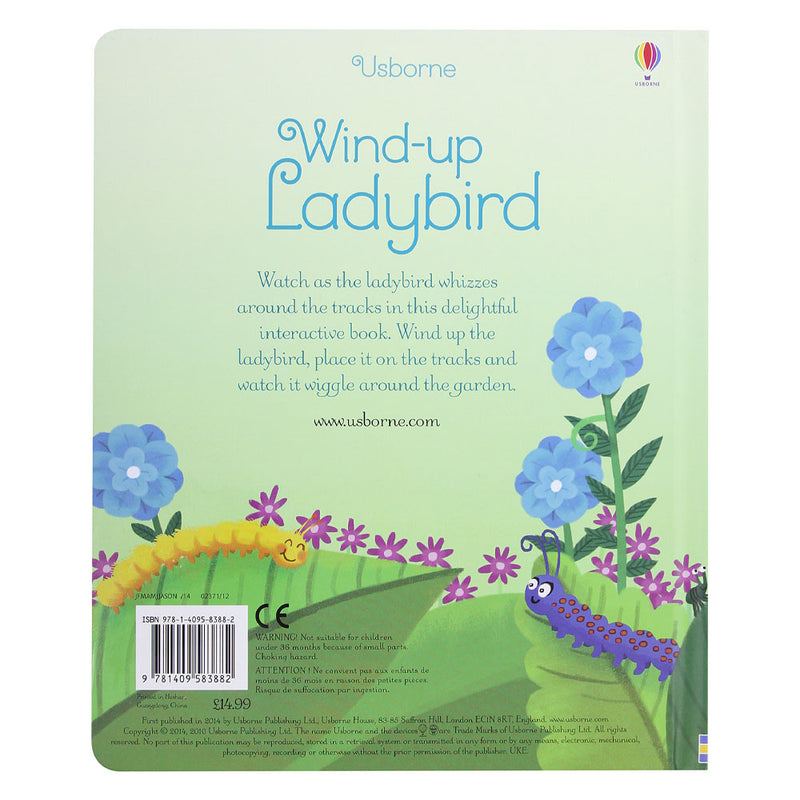 Wind-Up Ladybird (Wind-up Books) Board book