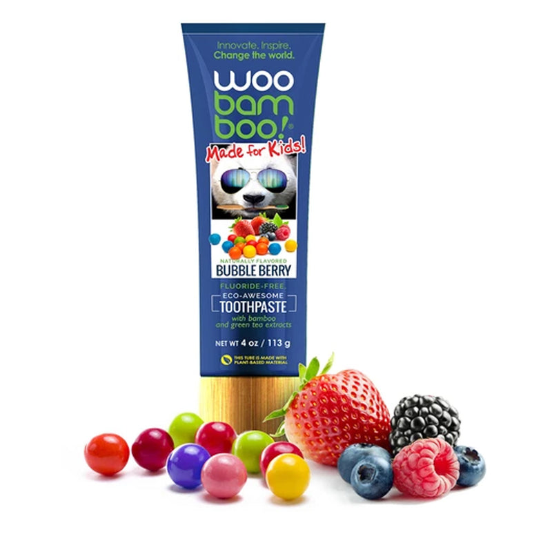 WooBamboo Bubble Berry Toothpaste