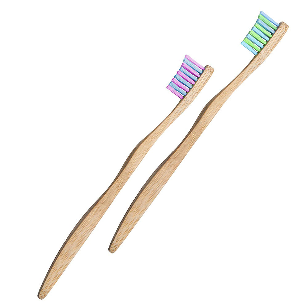 Woobambo Natural Soft Toothbrush for Kids