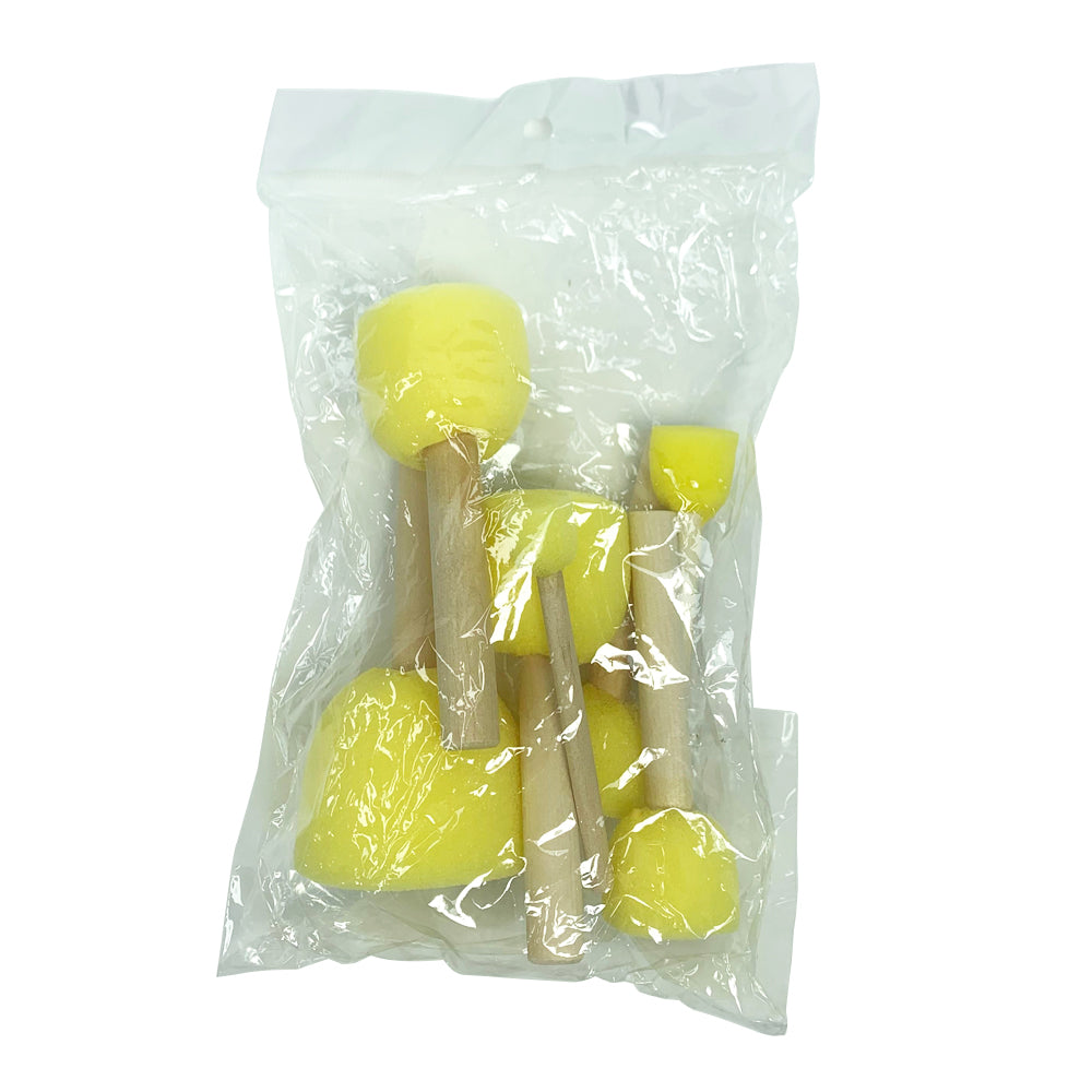 Yellow Sponge Dabber Set