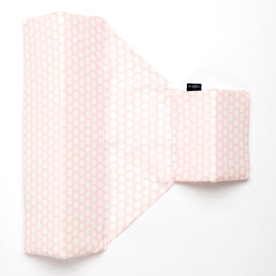 Zaffiro Sleep Positioner Pillow White and Pink Dots