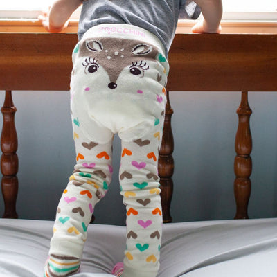 Zoocchini Comfort Crawler Babies Legging and Sock set - Fiona the Fawn