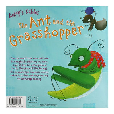 The Ant and the Grasshopper Story Time