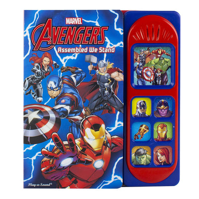 Marvel - Avengers Assembled We Stand Sound Book