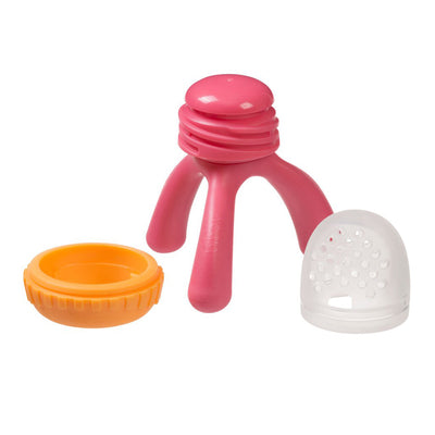 B.Box Silicone Fresh Food Feeder - Strawberry Shake
