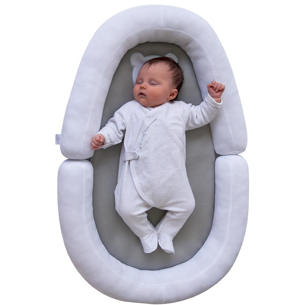Candide Air+ Baby Nest White and gray
