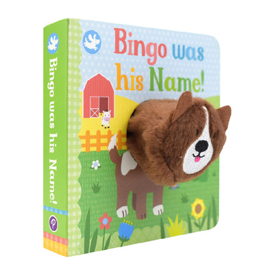 Little Learners Bingo Was His Name! Finger Puppet Book