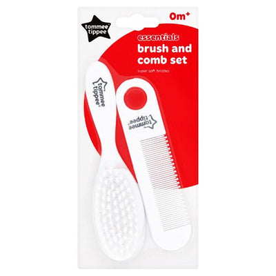 Tommee Tippee Essentials Baby Brush and Comb