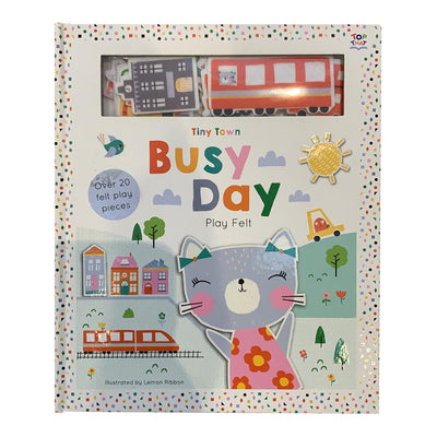Tiny Town Busy Day (Tiny Town Soft Felt Play Books)