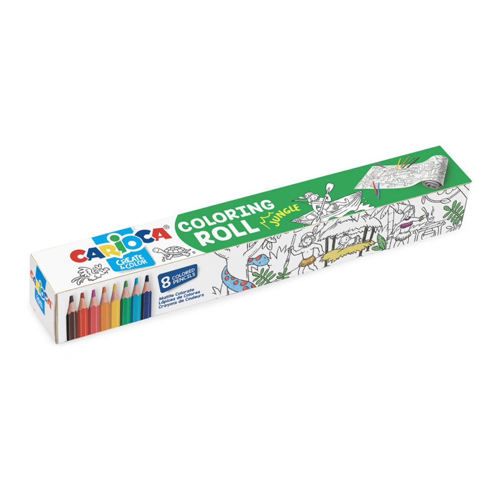 Carioca Coloring Rolls - Jungle
