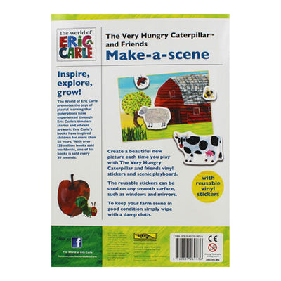 The Very Hungry Caterpillar Make A Sense, Reusable stickers book