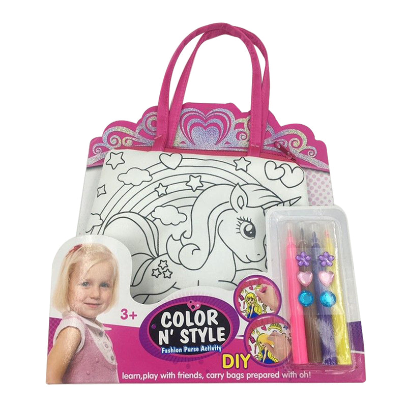 Painting Bag Color N Style - Unicorn