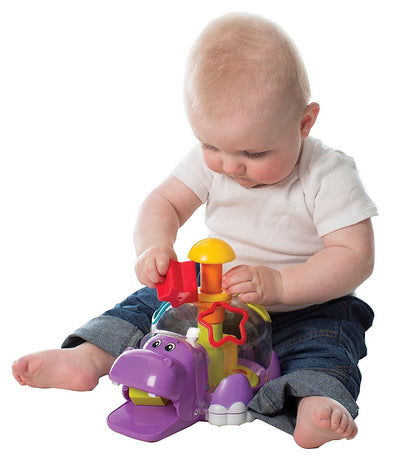 PLAYGRO HIPPO SPIN & SORT