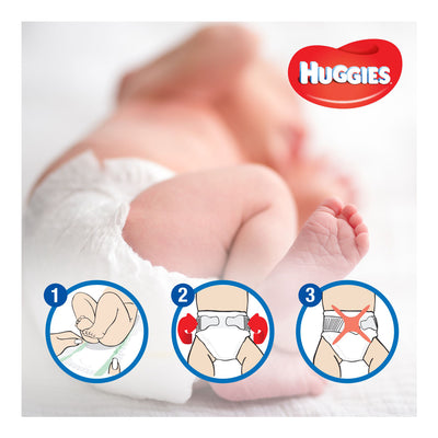 Huggies Size 4 (8 - 14 kg) 40 Pieces, Ultra Comfort Diapers