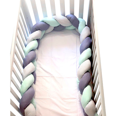 Baby Nest Bedding Set of 7 pieces, green