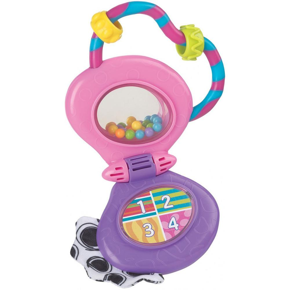 Playgro Musical Mobile Phone Rattle (Pink)