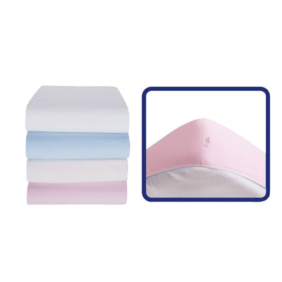Sevi Bebe Jersey Fitted Sheet - Pink