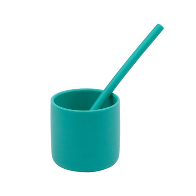 Minikoioi Reusable silicone straw -Mix color