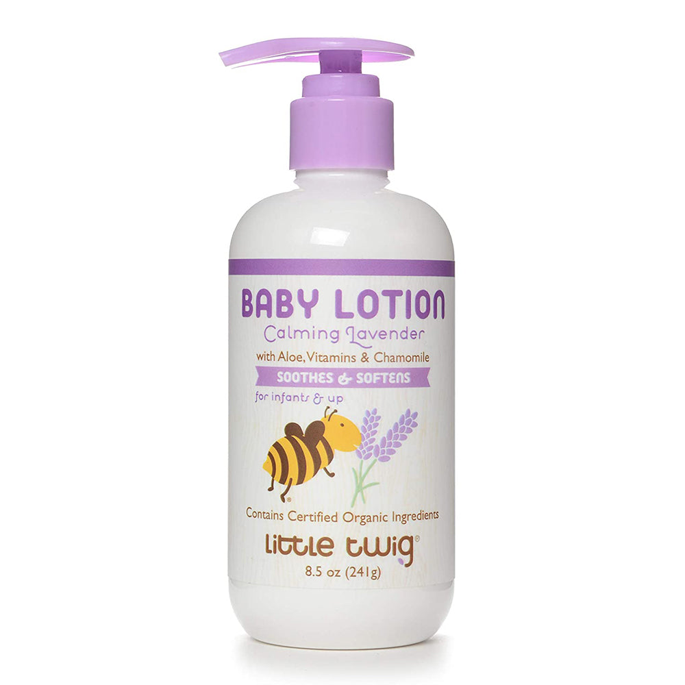 Little Twig Organic Baby Lotion Lavender