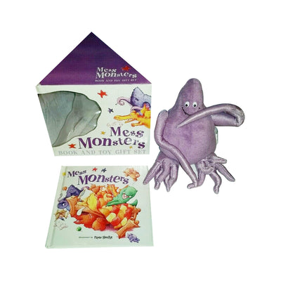 Mess Monsters: Purple Plush: Book and Toy Gift Set (Book & Toy)