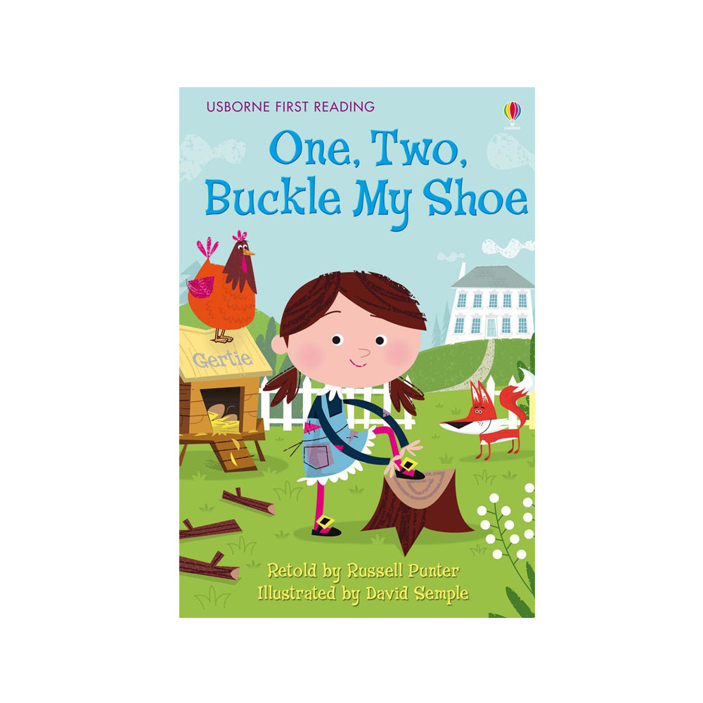 Usborne First Reading One, Two, Buckle my Shoe