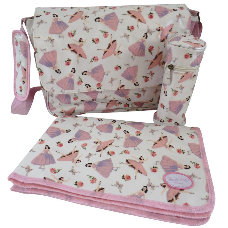 POWELL CRAFT PINK BALLERINA CHANGING BAG