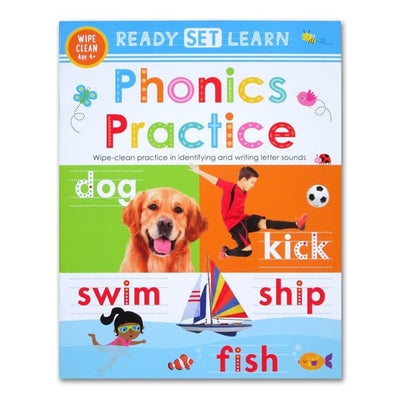 Ready Set Learn Workbooks: Phonics Practice