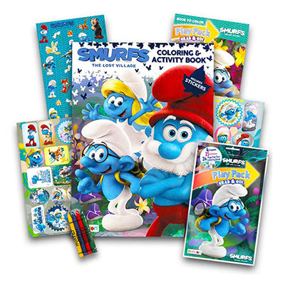 Smurfs: The Lost Village My First Puzzle Book