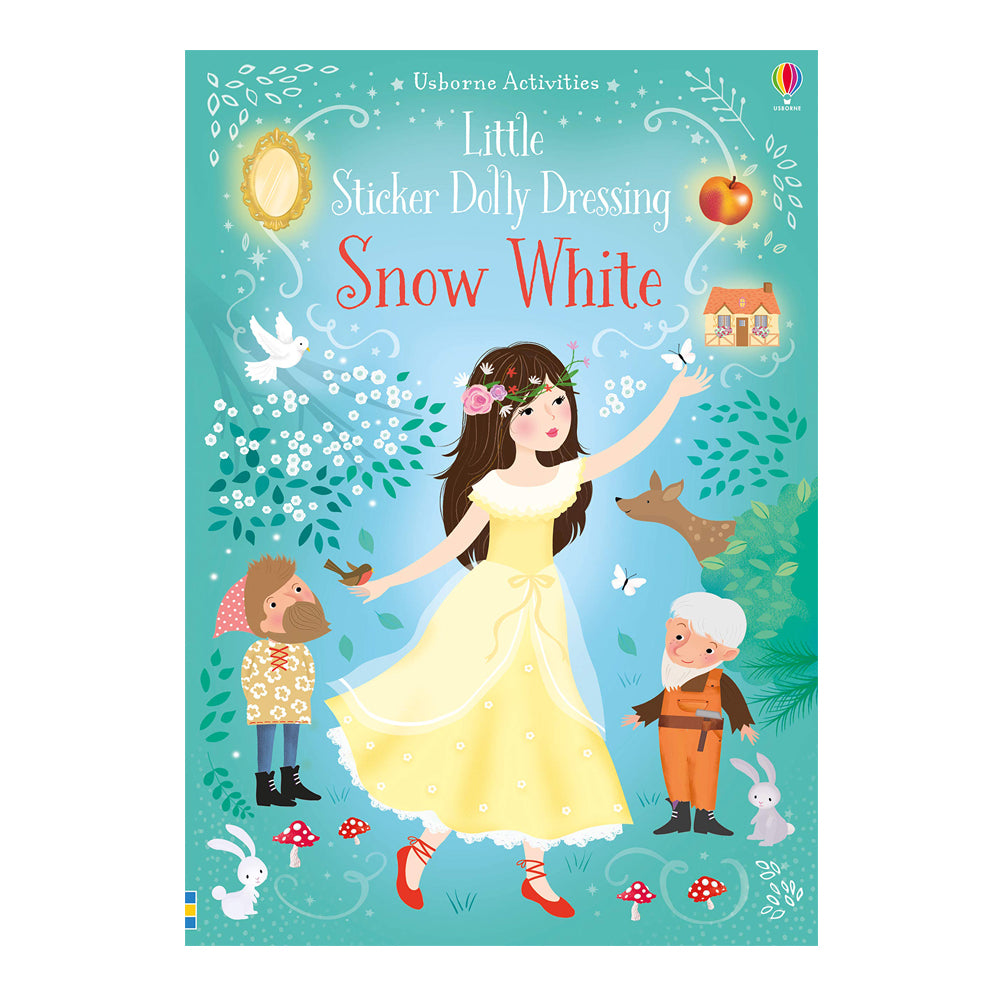 LITTLE STICKER DOLLY DRESSING - SNOW WHITE