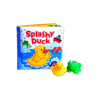Splashy Little Duck Baby Bath Set NEW