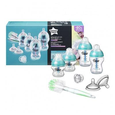 Tommee Tippee Advanced Anti-Colic Feeding BoTommee Tippeele Kit, Starter Set - Blue