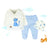 TONGS BABY- 3 Piece Set Baby - Blue