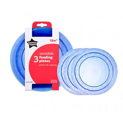 Tommee Tippee 3 Essentials Feeding Plates