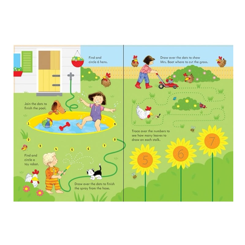 Farmyard Tales: Poppy and Sam's Wipe-Clean Summer Activity Book