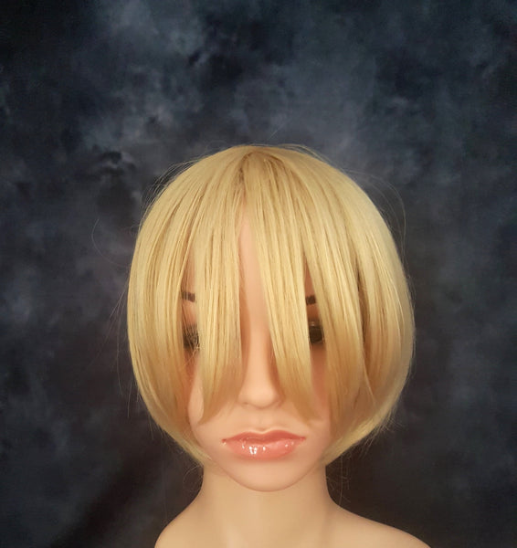 Cosplay Synthetic Viktor Yuri On Ice Blonde Wig - wonda wigs